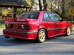 1989 DODGE SHELBY CSX-VNT 3 DOOR HATCHBACK - Rear 3/4 - 137693
