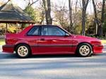 1989 DODGE SHELBY CSX-VNT 3 DOOR HATCHBACK - Side Profile - 137693