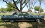 1965 CADILLAC FLEETWOOD BROUGHAM 4 DOOR SEDAN - Side Profile - 137694