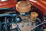 1950 FORD CUSTOM CONVERTIBLE - Engine - 137730