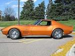 1972 CHEVROLET CORVETTE 2 DOOR COUPE - Side Profile - 137740