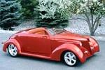 1936 FORD CUSTOM ROADSTER - Front 3/4 - 137744