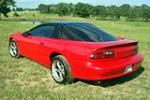 1996 CHEVROLET CAMARO 2 DOOR COUPE - Rear 3/4 - 137768