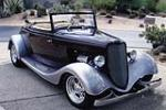 1933 FORD CUSTOM CABRIOLET - Front 3/4 - 137796