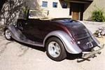1933 FORD CUSTOM CABRIOLET - Rear 3/4 - 137796
