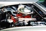 1957 FORD THUNDERBIRD CONVERTIBLE - Engine - 137806