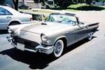 1957 FORD THUNDERBIRD CONVERTIBLE - Front 3/4 - 137806