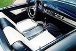 1957 FORD THUNDERBIRD CONVERTIBLE - Interior - 137806