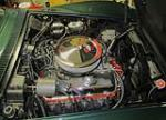 1968 CHEVROLET CORVETTE CONVERTIBLE - Engine - 137810