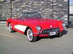 1957 CHEVROLET CORVETTE CONVERTIBLE - Front 3/4 - 137947