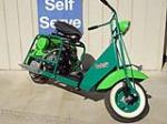1943 CUSHMAN CUSTOM AIRBORN SCOOTER - Front 3/4 - 137959