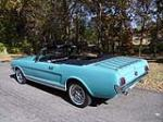 1965 FORD MUSTANG CONVERTIBLE - Rear 3/4 - 137962