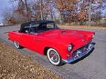 1955 FORD THUNDERBIRD CONVERTIBLE - Front 3/4 - 137965