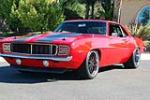 1969 CHEVROLET CAMARO CUSTOM PRO-TOURING COUPE - Front 3/4 - 137987