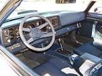 1980 CHEVROLET CAMARO Z/28 RS 2 DOOR COUPE - Interior - 138081