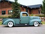 1946 FORD 1/2 TON CUSTOM PICKUP - Side Profile - 138098
