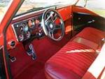 1969 CHEVROLET SHORT BED CUSTOM  PICKUP - Interior - 138167
