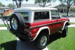 1973 FORD BRONCO CUSTOM 2 DOOR - Rear 3/4 - 138183