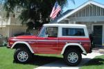 1973 FORD BRONCO CUSTOM 2 DOOR - Side Profile - 138183
