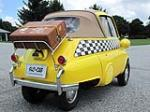 1957 BMW ISETTA CONVERTIBLE - Rear 3/4 - 138186