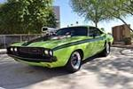 1970 DODGE CHALLENGER CUSTOM 2 DOOR COUPE - Front 3/4 - 138198