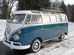 1966 VOLKSWAGEN 21 WINDOW DELUXE BUS - Front 3/4 - 138220