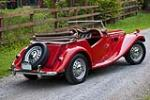 1954 MG TF ROADSTER - Rear 3/4 - 138287