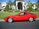 1980 PORSCHE 928 2 DOOR COUPE - Side Profile - 138303