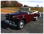 1949 WILLYS JEEPSTER CONVERTIBLE - Front 3/4 - 138319