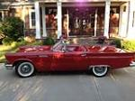 1957 FORD THUNDERBIRD E CONVERTIBLE - Side Profile - 138361