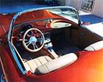1959 CHEVROLET CORVETTE CUSTOM CONVERTIBLE - Interior - 138367