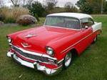 1956 CHEVROLET 210 CUSTOM 2 DOOR HARDTOP - Front 3/4 - 138408