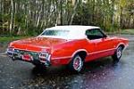 1972 OLDSMOBILE 442 CONVERTIBLE - Rear 3/4 - 138776