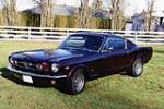 1965 FORD MUSTANG CUSTOM FASTBACK - Front 3/4 - 138996