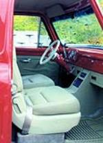 1955 FORD F-100 CUSTOM PICKUP - Interior - 139075