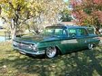 1960 CHEVROLET BROOKWOOD CUSTOM WAGON - Front 3/4 - 139157