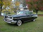 1957 CHEVROLET BEL AIR 2 DOOR HARDTOP - Front 3/4 - 139159
