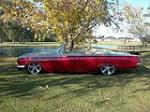 1962 CHEVROLET IMPALA CUSTOM CONVERTIBLE - Side Profile - 139161