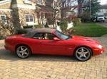 2001 JAGUAR XKR CONVERTIBLE - Side Profile - 139179