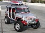 2007 JEEP WRANGLER UNLIMITED CUSTOM SUV - Front 3/4 - 139276