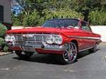 1961 CHEVROLET IMPALA CUSTOM 2 DOOR COUPE - Side Profile - 139309