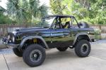 1969 FORD BRONCO CUSTOM SUV - Front 3/4 - 139314