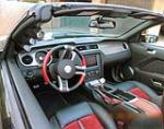 2010 FORD SHELBY GT500 SUPERSNAKE CONVERTIBLE - Interior - 139336
