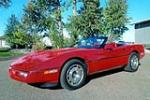 1987 CHEVROLET CORVETTE CONVERTIBLE - Front 3/4 - 139359