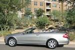 2004 MERCEDES-BENZ CLK 320 CONVERTIBLE - Side Profile - 141813