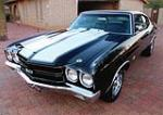 1970 CHEVROLET CHEVELLE SS 2 DOOR COUPE - Front 3/4 - 143033