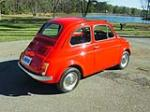 1972 FIAT 500L 2 DOOR COUPE - Rear 3/4 - 151332