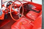 1960 CHEVROLET CORVETTE CONVERTIBLE - Interior - 151362