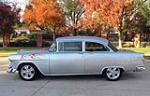 1955 CHEVROLET 150 CUSTOM 2 DOOR HARDTOP - Side Profile - 151366