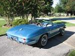 1965 CHEVROLET CORVETTE CONVERTIBLE - Rear 3/4 - 151393